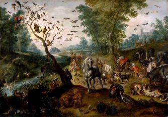 Jan_van_Kessel_II_-_Noah's_Family_Assembling_Animals_before_the_Ark_-_Walters_371998